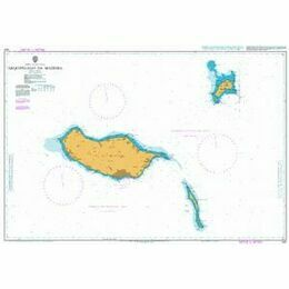 1831 Arquipelago da Madeira Admiralty Chart