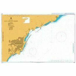1847 Santa Cruz de Tenerife Admiralty Chart