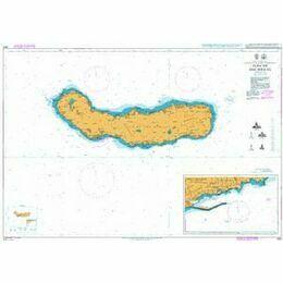 1895 Ilha de Sao Miguel Admiralty Chart