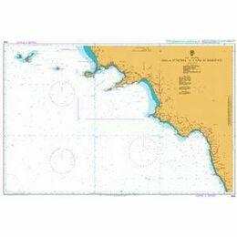 1908 Isola D'Ischia to Capo di Bonifati Admiralty Chart