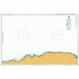 1910 Cherchell to Bejaia Admiralty Chart