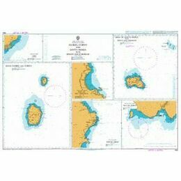 1959 Flores, Corvo and Santa Maria Admiralty Chart