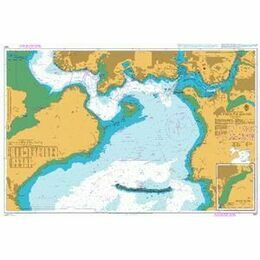 1967 Plymouth Sound Admiralty Chart