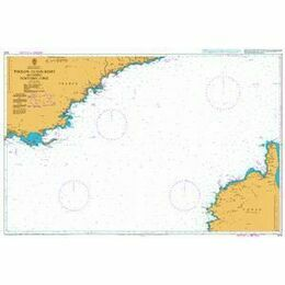 1974 Toulon to San Remo inc. Northern Corse Admiralty Chart