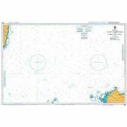 1983 Capo Carbonara to Capo San Vito Admiralty Chart