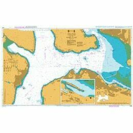 1994 Approaches to the River Clyde Admiralty Chart