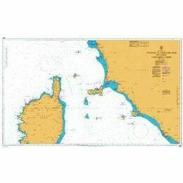1999 Livorno to Civitavecchia inc. Northern Corse Admiralty Chart