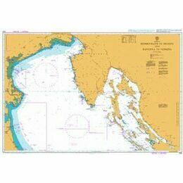 204 Sedmovrace to Trieste & Ravenna to Venezia Admiralty Chart