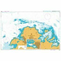 2065 Northern Antiqua Admiralty Chart