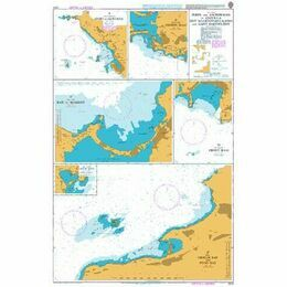 2079 Ports and Anchorages in Anquilla, St Martin Admiralty Chart