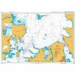 2108 Kattegat Southern Part Admiralty Chart