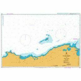 2121 Ras el Hadid (Cap de Fer) to Iles Cani Admiralty Chart