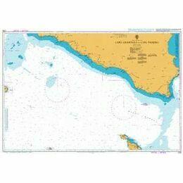 2123 Capo Granitola to Capo Passero Admiralty Chart