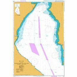 2133 Approaches to Suez Bay (Bahr el Qulzum) Admiralty Chart