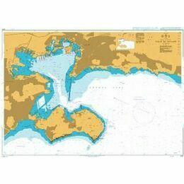 2170 Rade de Toulon Admiralty Chart