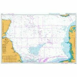 2182B North Sea - Central Sheet Admiralty Chart