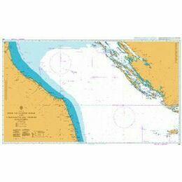 220 Otok Vis to Otok Susak & S. Benedetto Admiralty Chart