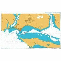 2200 West Dniprovs'kyy Lyman Admiralty Chart