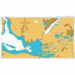 2201 East Dniprovs'kyy Lyman including Kherson Admiralty Chart