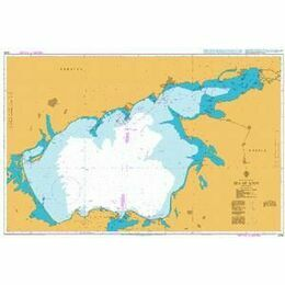 2234 Sea of Azov Admiralty Chart