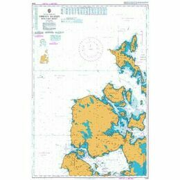 2249 Orkney Islands,  Western Sheet Admiralty Chart