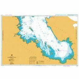 2275 Onezhskiy Zaliv Admiralty Chart