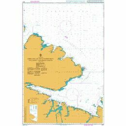 2317 Omgang to Mys Nemetskiy (Including Varangerfjorden) Admiralty Chart