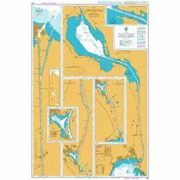 233 Suez Canal(Qanat el Suweis) Admiralty Chart