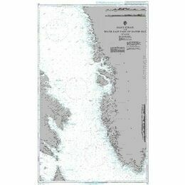 235 Davis Strait & South East Part of Baffin Bay Admiralty Chart