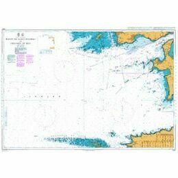 2350 Point de Saint Mathieu to Chaussee de Sein Admiralty Chart