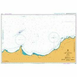 2437 Cabo Quilates to Oran Admiralty Chart