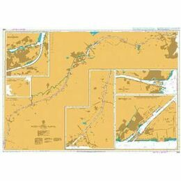 2469 Nord Ostsee Kanal A Admiralty Chart