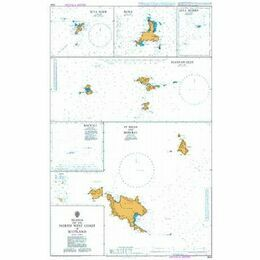 2524 Islands of the North West coast of Scotland Admiralty Chart