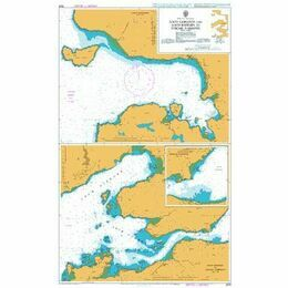 2528 Loch Gairloch and Loch Kishorn to Strome Narr Admiralty Chart