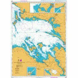 2583 Smalandsfarvandet - Western Part Admiralty Chart