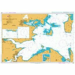 2591 Farvandet Nord For Fyn (Waters North of Fyn) Admiralty Chart
