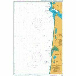 2664 Pointe de la Coubre to Pointe d'Arcachon Admiralty Chart