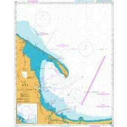 2688 Approaches to Gdansk and Gdynia Admiralty Chart