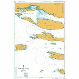 2712 Otok Susac to Split Admiralty Chart