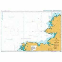 2725 Blacksod Bay to Tory Island Admiralty Chart