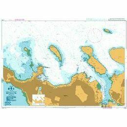 2735 Iceland S.W Coast Reykjavik Admiralty Chart