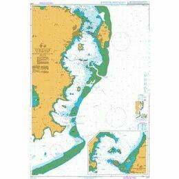 2757 Ille de Mayotte - Eastern Part - Dzaoudzi to Pointe Sazile Admiralty Chart