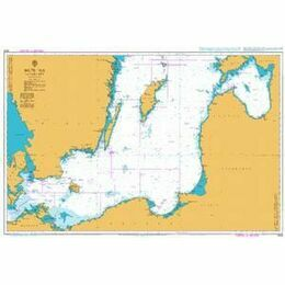 2816 Baltic Sea - Southern Sheet Admiralty Chart