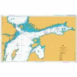 2817 Baltic Sea - Northern Sheet and Gulf of Finland Admiralty Chart