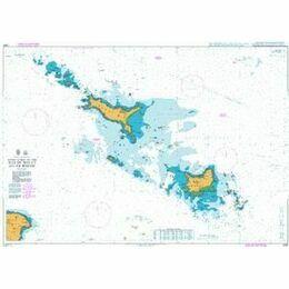 2835 Approaches to the Iles de Houat & de Hoedic Admiralty Chart