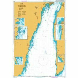 2842 Baltic Sea. Sweden - Kalmarsund Southern Part Admiralty Chart