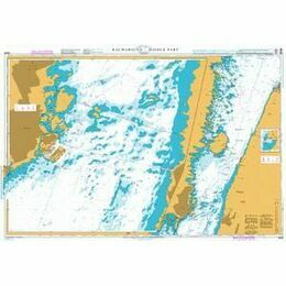 2843 Baltic Sea. Sweden - Kalmarsund  - Middle part Admiralty Chart
