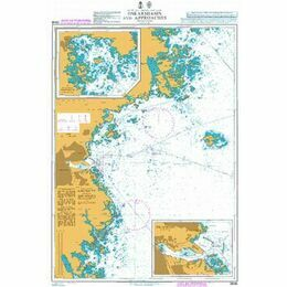 2846 Baltic Sea. Sweden - Oskarshamn and Approaches Admiralty Chart