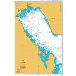 2847 Qatar to Shatt al `Arab Admiralty Chart