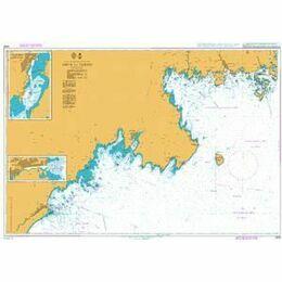 2856 Ahus to Tarno Admiralty Chart